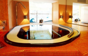 Orange Bathtub