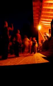 People Dancing at Light